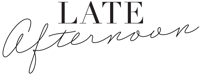 Late Afternoon Blog logo